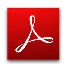 Adobe PDF shadow icon