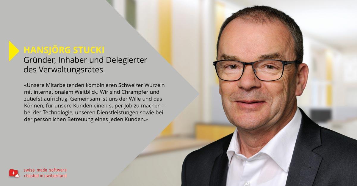 Hansjörg Stucki gründete die Nimbus AG vor 30 Jahren. Im persönlichen Gespräch lässt der erfolgreiche Unternehmer die Geschichte der Nimbus Revue passieren und gibt einen Ausblick auf die Zukunft des Technologieunternehmens.